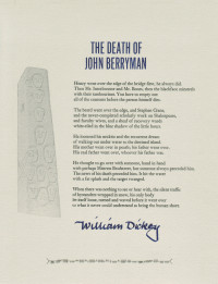 The Death of John Berryman