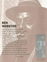 Ben Webster (signed)