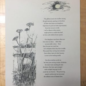 Winter Daybreak Stanzas for Our Daughters (Signed)