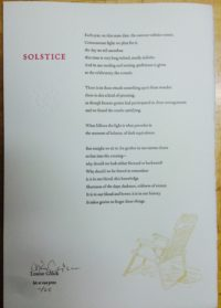 Solstice (signed)