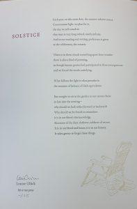 Solstice (signed)